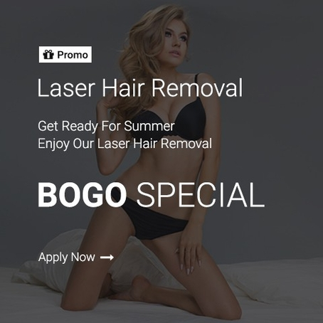 promo laser hair removal home