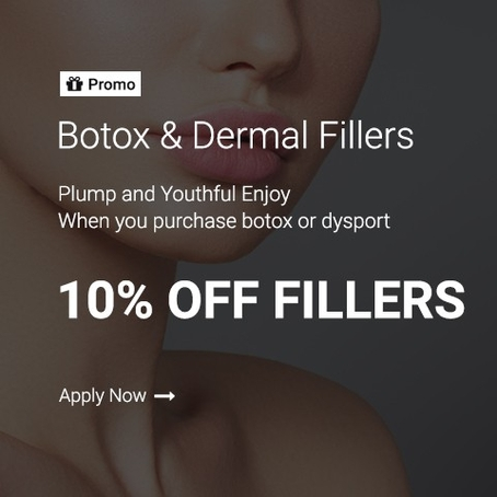 promo botox and fillers home slider